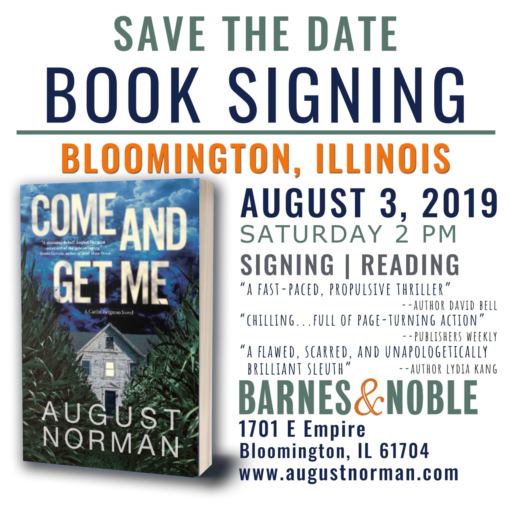 Events Archives - August Norman Books